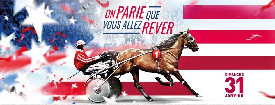 Prix d'Amérique - course pmu du 31 janvier 2016