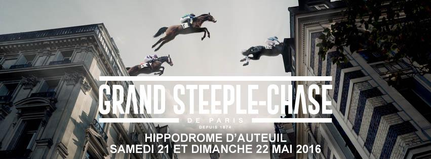Grand steeple-chase de paris - course pmu du 22 mai 2016