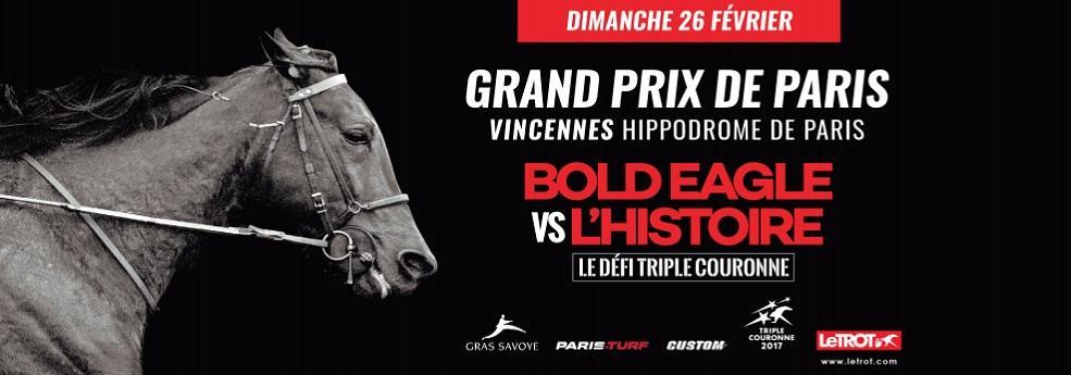 Grand Prix de Paris - course pmu du dimanche 26 février 2017