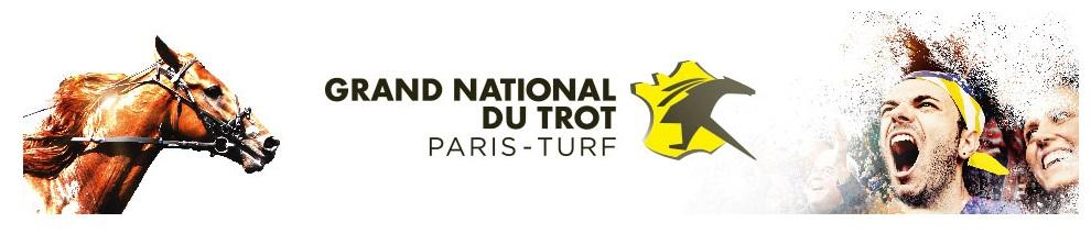 Grand national du Trot - course pmu du 12 avril 2017
