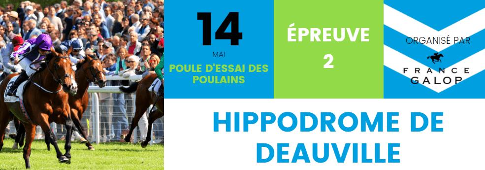 Pronostic quinté du 14 mai 2017 – Poule d'Essai des poulains
