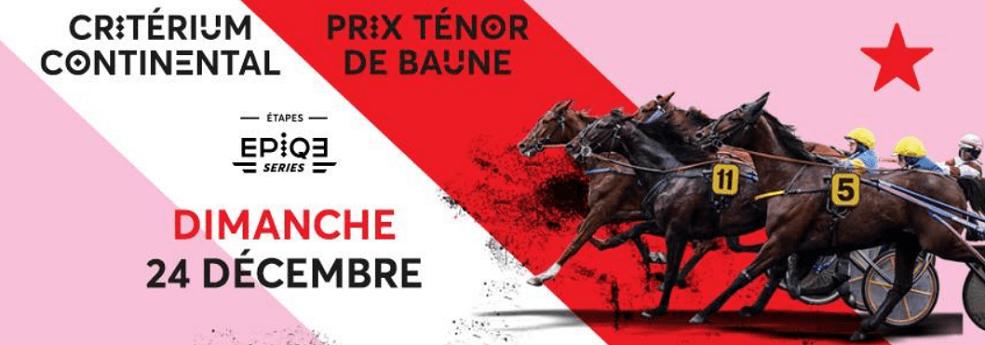 Pronostic quinté du 24 décembre 2017 – Prix Ténor de Baune