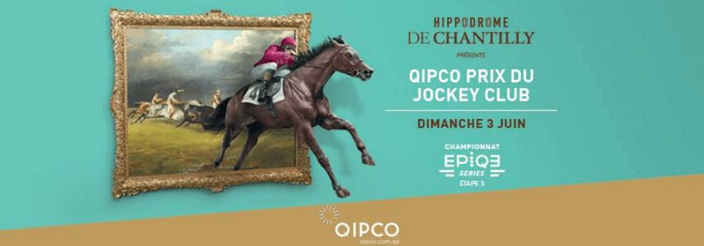 Qipco Prix du Jockey Club - Quinte du 3 juin 2018