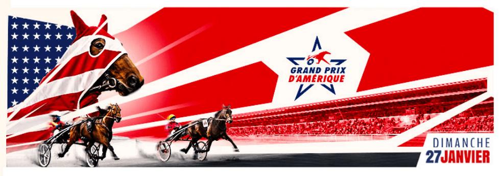 Grand prix d'Amérique - course pmu du 27 janvier 2019