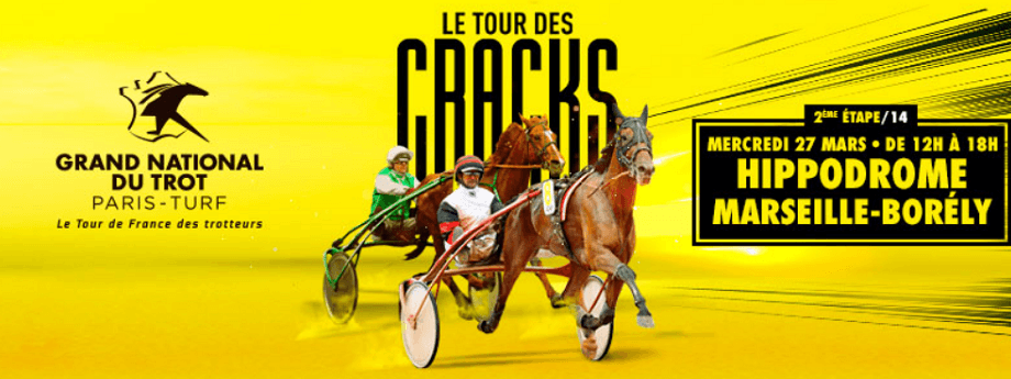 2ème étape du Grand National du Trot - course pmu du 27 mars 2019