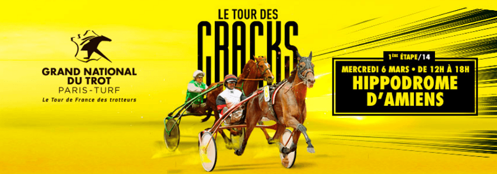 Pronostic quinté du 6 mars 2019 – Grand National du Trot à Amiens