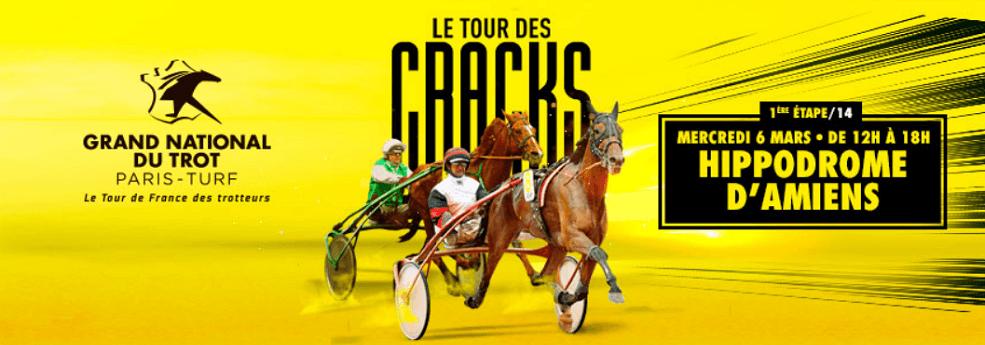 1ère étape du Grand National du Trot - course pmu du 6 mars 2019