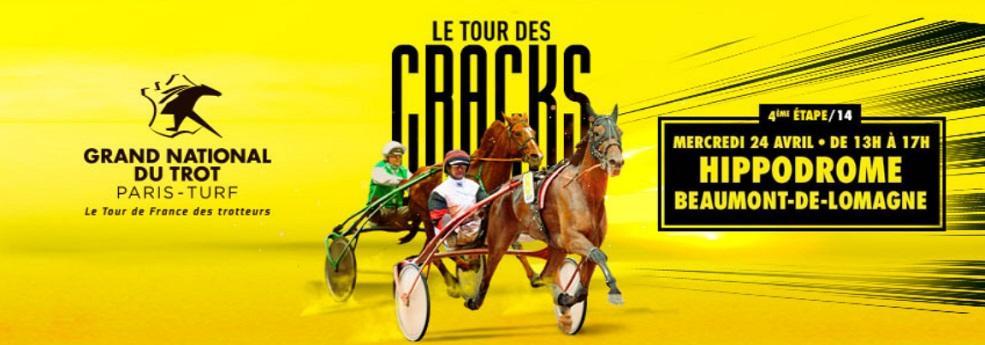 4ème étape du Grand National du Trot - course pmu du 24 avril 2019