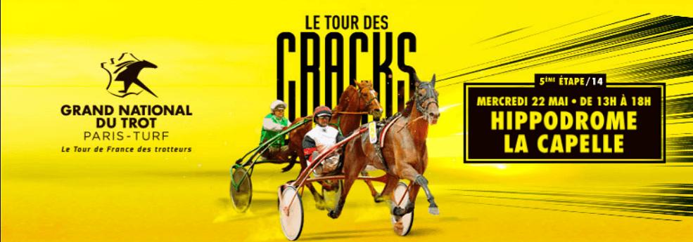 5ème étape du Grand National du Trot à La Capelle - course pmu du 22 mai 2019
